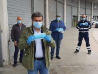 Fano riceve in dono dal Comune di Wolfsburg 50 mila mascherine
