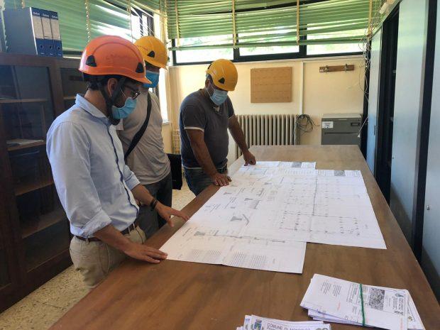 A Mondolfo iniziati lavori di adeguamento sismico ed efficientamento energetico alla scuola Fermi