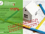 Fano, webinar informativo sul Superbonus 110% del Decreto Rilancio