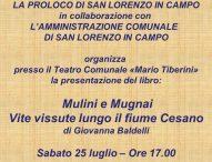 A San Lorenzo in Campo presentazione del libro Mulini e Mugnai