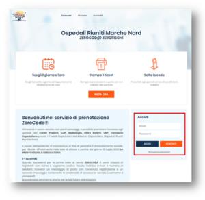 Marche Nord attiva servizio prenotazione on-line per accedere ai servizi amministrativi e ospedalieri senza più code e attese