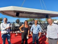 "Decolla 'Dinner in the Sky', Ricci: ""Pesaro risale"""