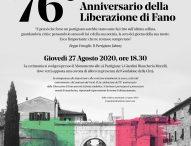 Fano celebra il 76esimo anno della Liberazione