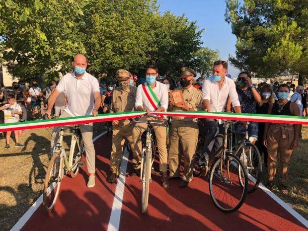 Marotta sempre più città della bicicletta, inaugurata la ciclopedonale che collega Piano Marina al centro