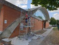 San Lorenzo in Campo, si ristruttura la vecchia palestra e procede la realizzazione della nuova struttura