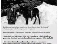 Pergola, casting per il film Tre infanzie di Simone Massi