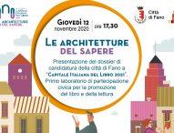 """Fano candidata a """"Capitale Italiana del Libro 2021"""", al via primo laboratorio di promozione lettura"""