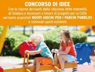Mondolfo Marotta: nuovi giochi nei parchi pubblici con riduzione indennità di Sindaco e assessori