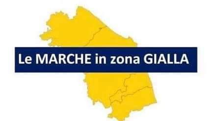 Le Marche restano in zona Gialla