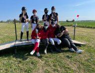 Prima tappa del campionato italiano Trec Giovanissimi: cavalieri ed amazzoni delle Terre del Catria tutti sul podio