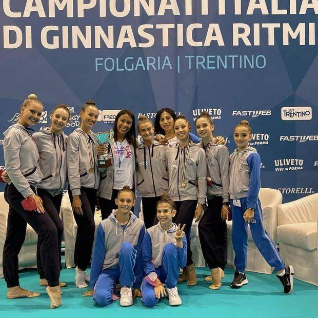 L'Aurora Fano vince il campionato italiano d'Insieme Open 5 cerchi