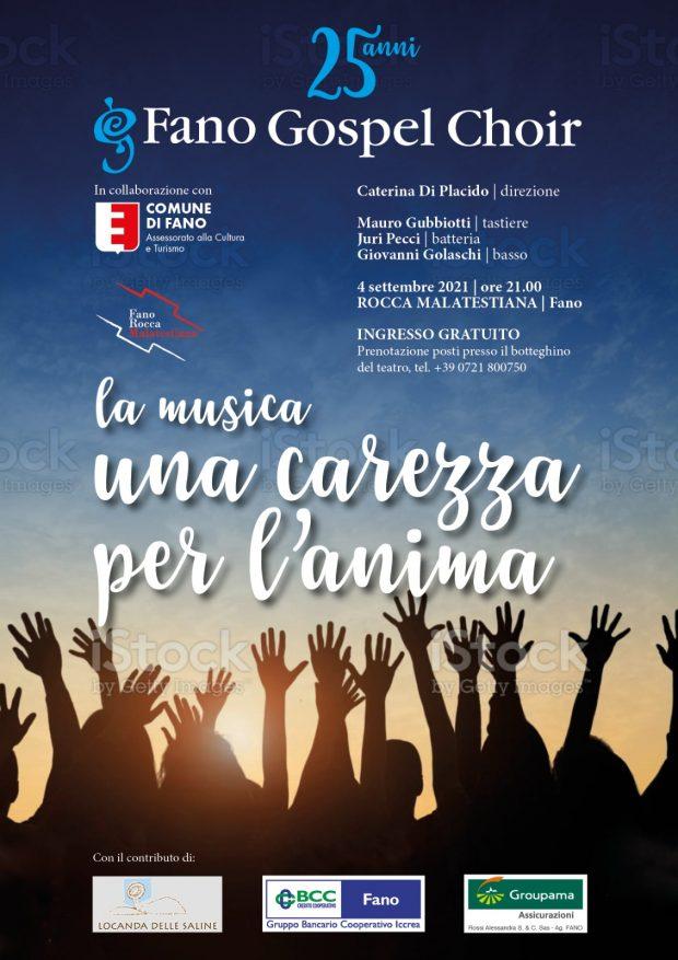 Fano Gospel Choir festeggia 25 anni con un concerto