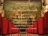 Il teatro della Fortuna di Fano celebra la sua storia con un concerto-spettacolo il 24 agosto