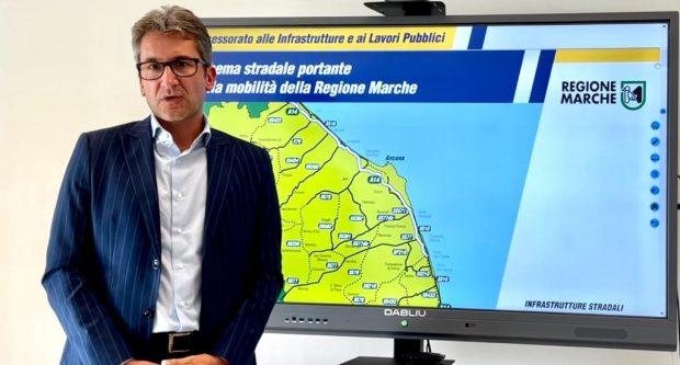 Baldelli:'Da Regione Marche 12 milioni di euro per aiutare i Comuni a migliorare la sicurezza delle strade'. Da oggi i bandi