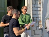 Iniziate le riprese con Roberto Mancini per gli spot promozionali 2022 della Regione Marche