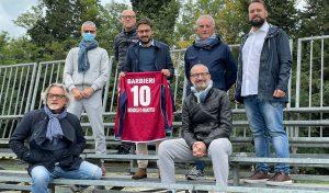Atletico MondolfoMarotta, la nuova tribuna e il nuovo logo portano bene:cinquina al Cantiano